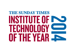 IT Carlow. Institute of technology of the year 2014