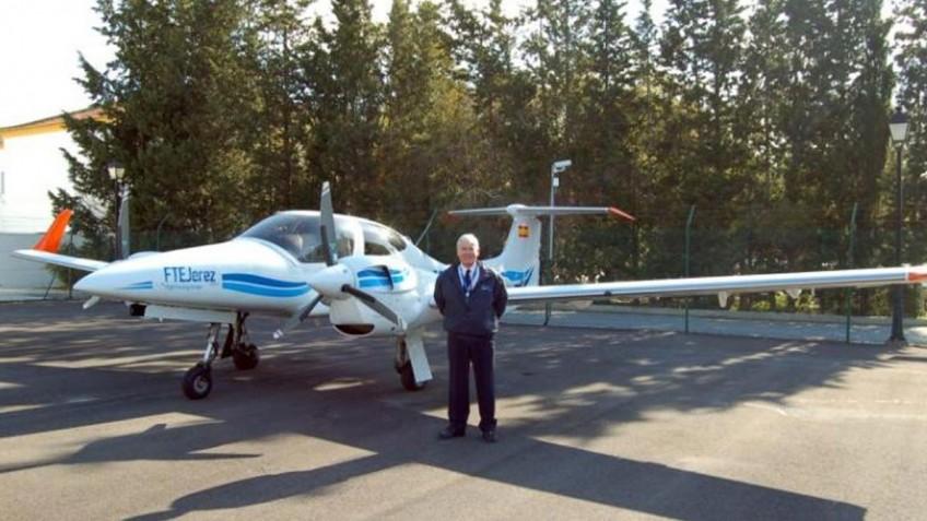 FTEJerez commence training on 4 new Diamond DA42 Aircraft