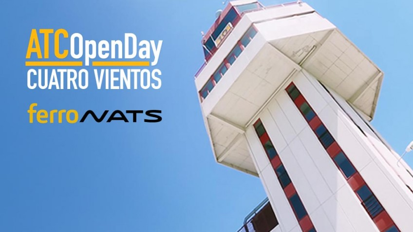 Open Day event at the Cuatro Vientos airbase control tower