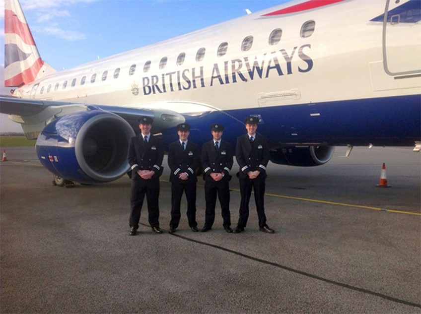 BA CityFlyer cadets complete MPL training