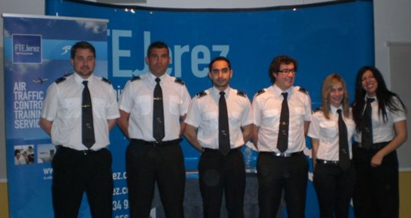 FTEJerez celebrates the graduation of its fourth Air Traffic Control (ATC) course