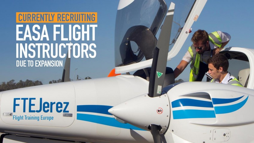 FTEJerez on drive to recruit qualified flight instructors due to company expansion