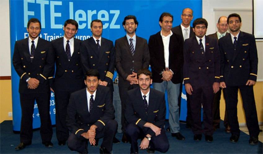 Emirates Graduation and Wings Ceremony at FTEJerez