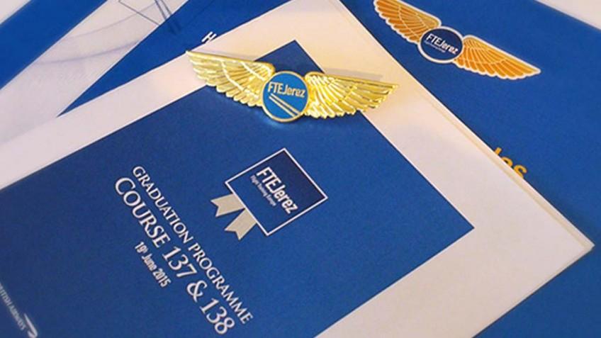 BA Pilot Recruitment Manager, guest of honour at Graduation Ceremony