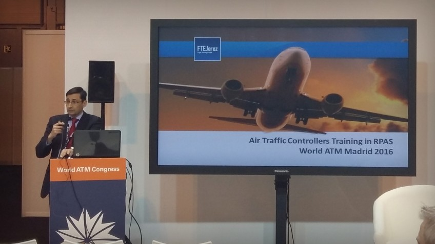 FTE's ATC Head of Training, guest speaker at World ATM