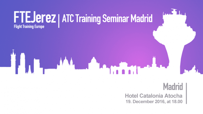 Air Traffic Control Training Seminar at Madrid