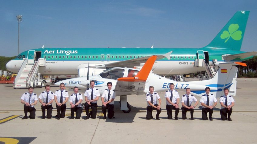 FTEJerez authorized by AESA to conduct MPL training for Aer Lingus
