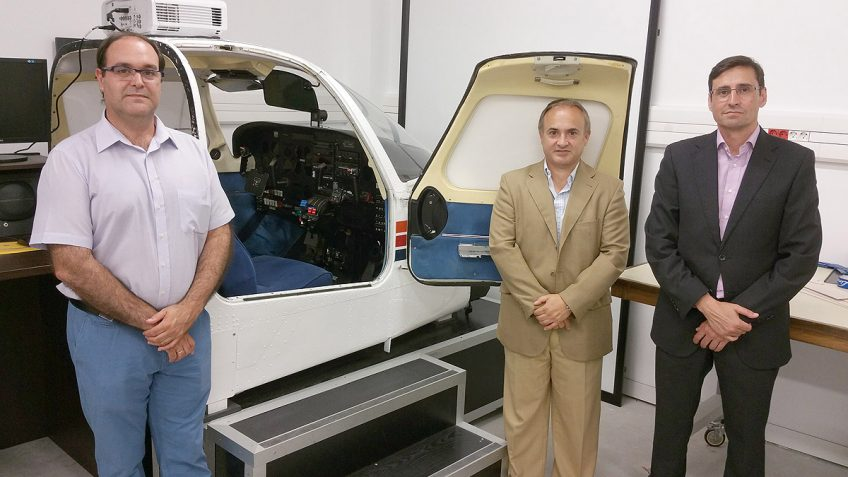FTEJerez donates Seneca flight simulator to the University of Cadiz (UCA)