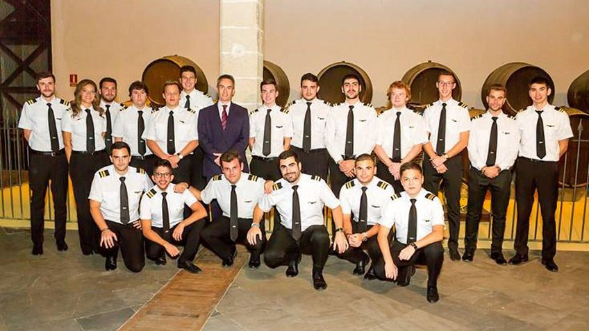 EasyJet Head of Flight Operations, Guest of Honour at FTEJerez graduation