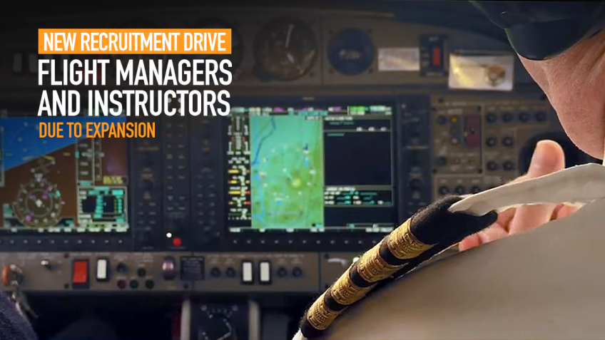 FTEJerez on recruitment drive for Flight Managers and Instructors