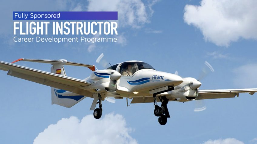 FTEJerez launches fully sponsored flight instructor programme