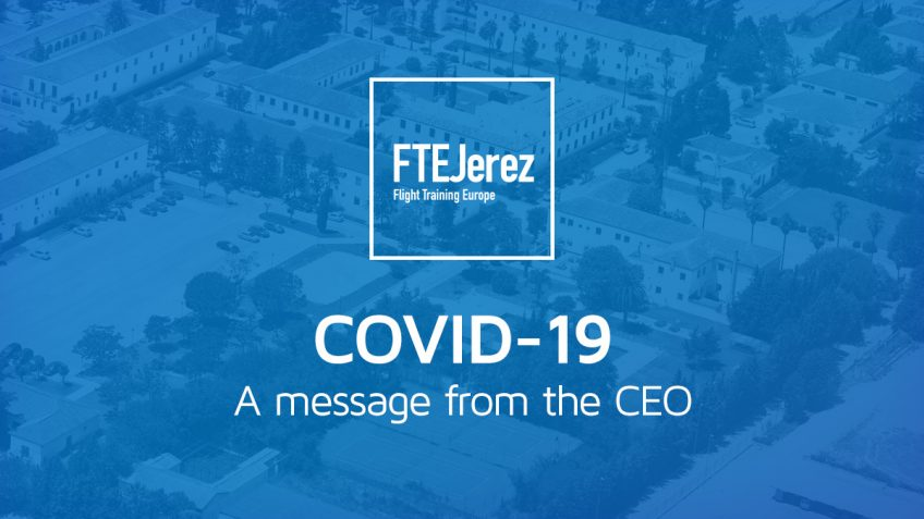 COVID-19: A message from the CEO