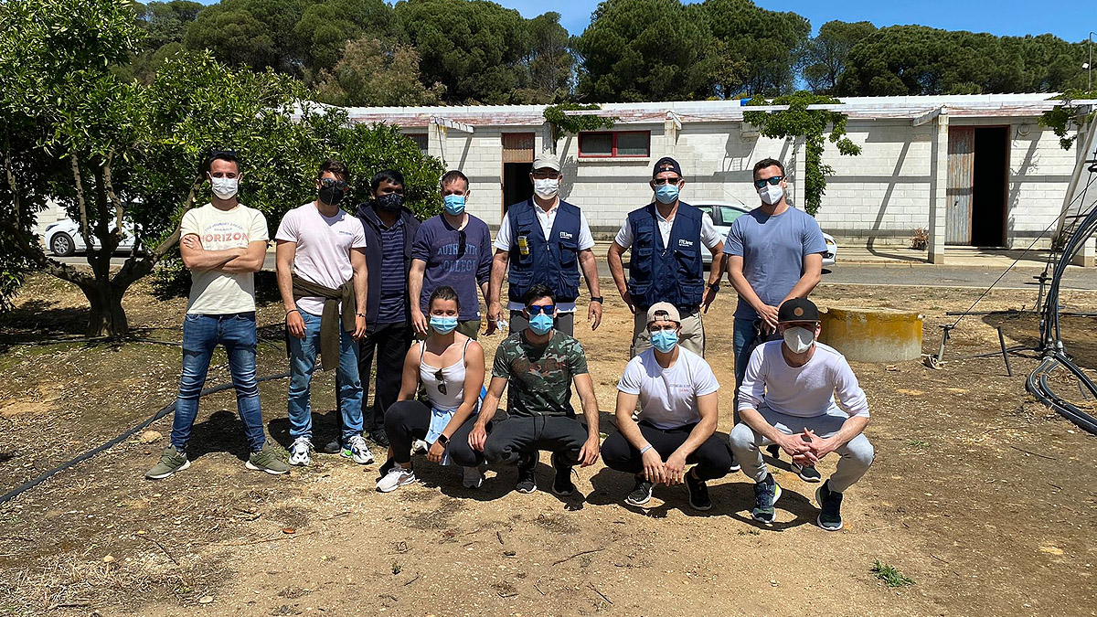 Drone training course completed at the University of Huelva